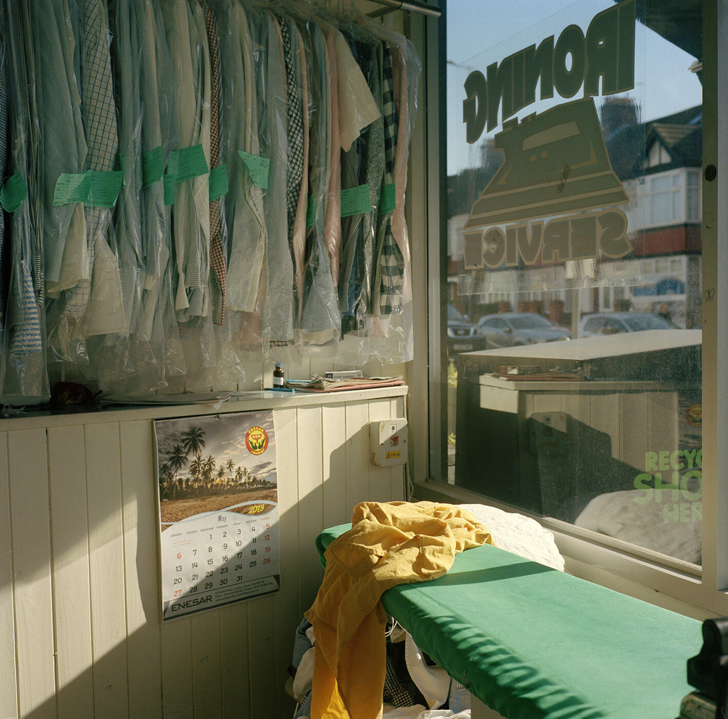 Ironing Service, South London - 2019